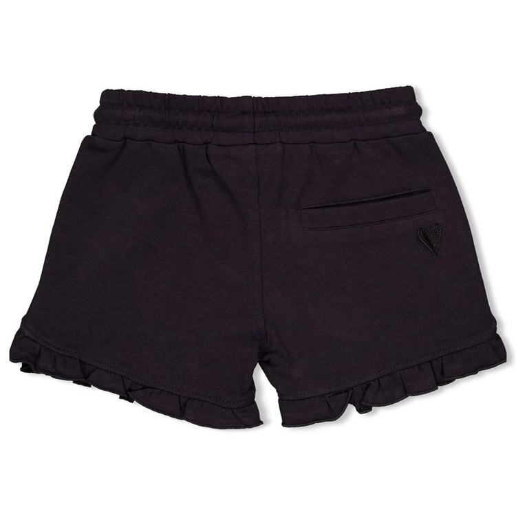Shorts de algodón para niñas de Jubel - detrás