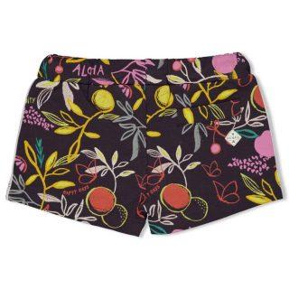 Shorts estampados para niña de Jubel - detrás