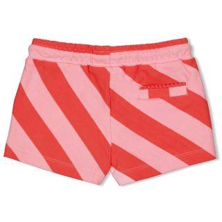 Shorts de rayas para niñas de Jubel - detrás