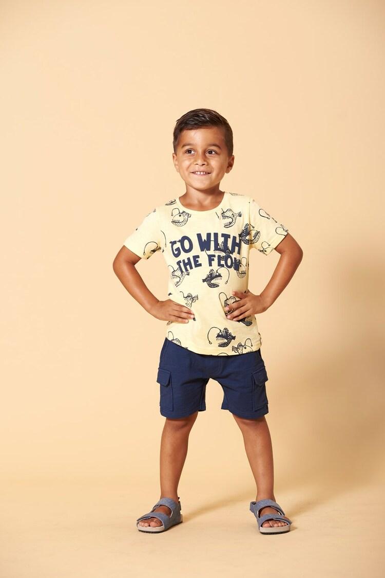 Camiseta estampada de niño de Sturdy - lifestyle
