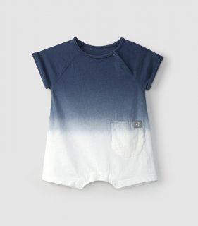 Peto corto de bebé en algodón orgánico de Snug