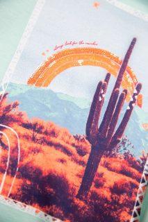 Camiseta estampada para niñas de Garcia Jeans - detalle