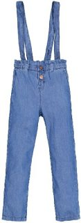 Pantalones de tirantes para niña de Garcia Jeans