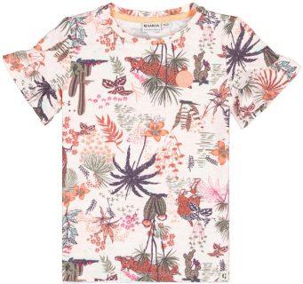 Camiseta estampada para niña de Garcia Jeans