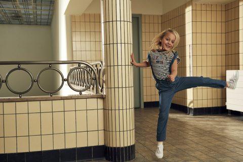 Pantalón de tirantes para niña de Garcia Jeans - Lifestyle