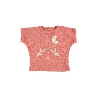 Camiseta de niña en algodón orgánico de Petit Indi