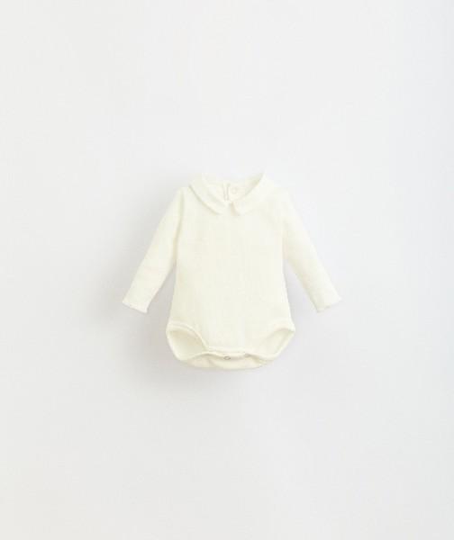 body de algodón orgánico para bebé de Play Up