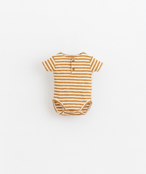 body de algodón orgánico de bebé de Play Up