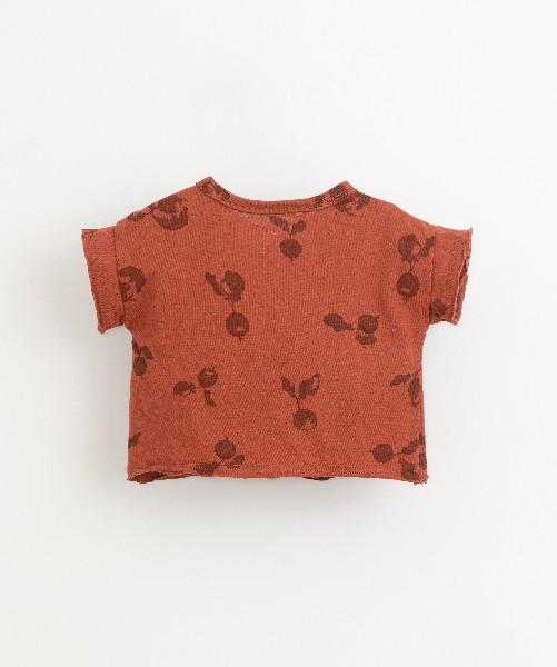 Camiseta de bebé de la marca Play Up - detrás