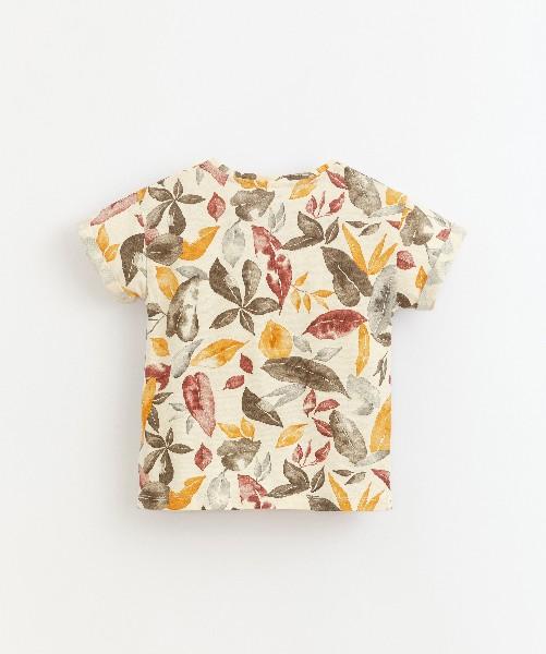 Camiseta estampada de niño de Play Up - detrás