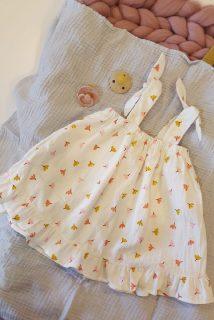 Vestido estampado de bebé de Elisabeth Puig
