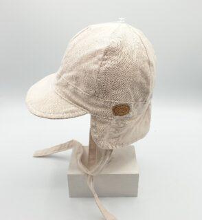 Gorro de bebé en algodón de Monnuage -lateral