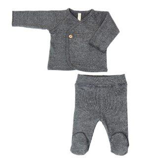 Conjunto de primera puesta en algodón orgánico para bebé de Lillymom