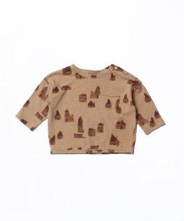 Camiseta de bebé en tejidos naturales de Play Up