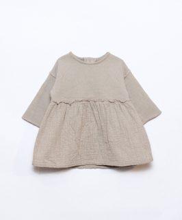 Vestido de algodón para niña de Play Up