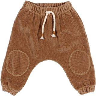 Pantalón de velour para bebé de Búho