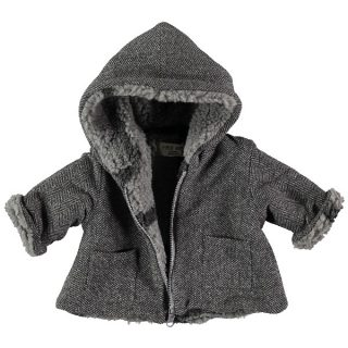 Abrigo reversible de bebé de Petit Indi