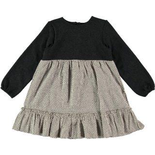 Vestido de niña combinado de Petit Indi