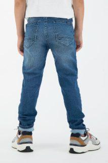 Pantalón vaquero elástico para niños de Garcia Jeans - detrás