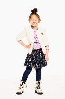 Falda estampada de niña de Garcia Jeans - lifestyle