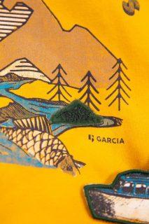 Sudadera con capucha de niño de Garcia Jeans - detalle
