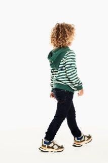 Sudadera de rayas de Garcia Jeans para niños - detalle