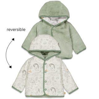 Abrigo reversible de bebé de Feetje
