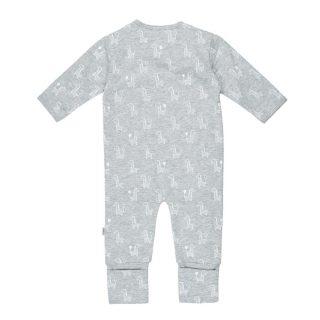 Pijama de algodón orgánico de bebé - detrás