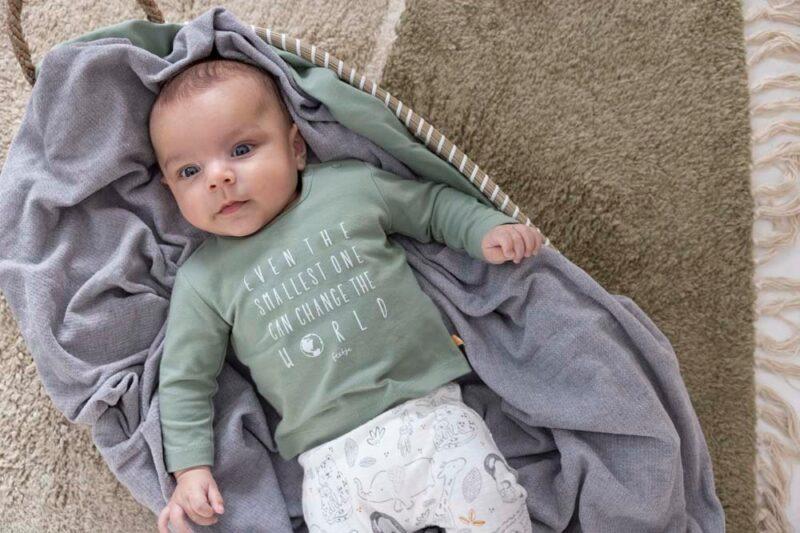 Camiseta de bebé en algodón orgánico - lifestyle