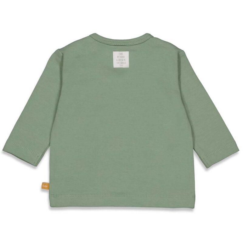 Camiseta de bebé en algodón orgánicoc- detrás