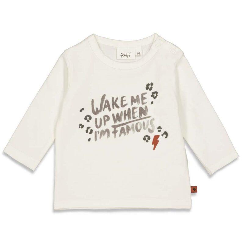 camiseta de algodón orgánico para bebé